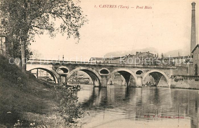 Castres Tarn Pont Biais Kat. Castres