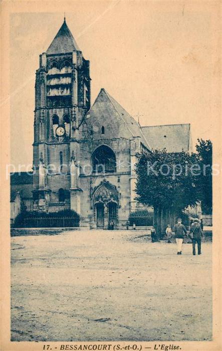 Bessancourt Eglise Kat. Bessancourt