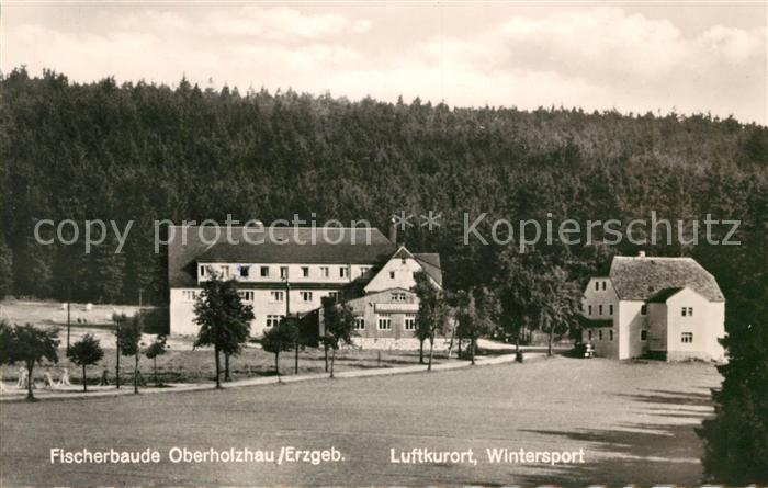Oberholzhau Fischerbaude Luftkurort Wintersport Kat. Rechenberg Bienenmuehle