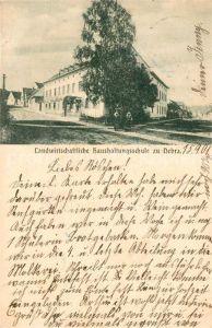 AK / Ansichtskarte Nebra Unstrut Landwirtschaftliche Haushaltsschule Kat. Nebra Unstrut