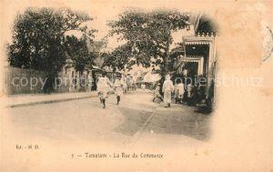 AK / Ansichtskarte Tamatave Rue du Commerce Kat. Afrika