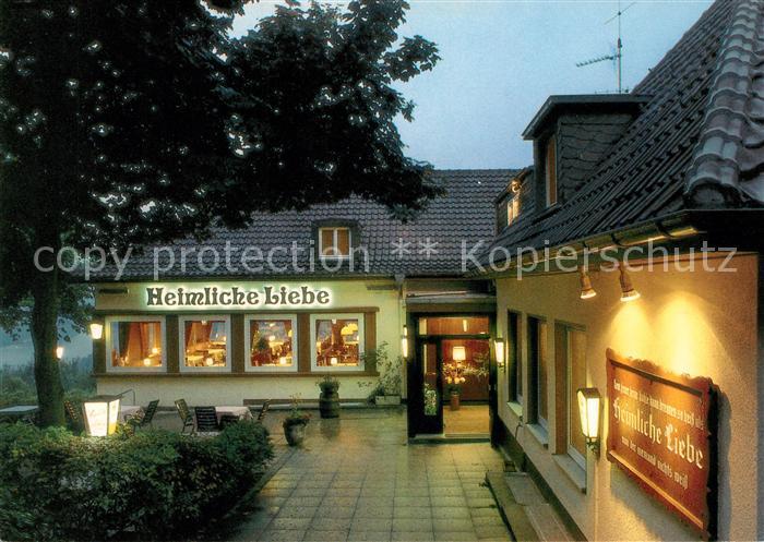AK / Ansichtskarte Essen Ruhr Cafe Heimliche Liebe Kat. Essen