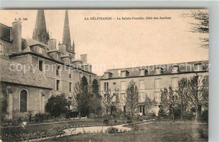 AK / Ansichtskarte La Delivrande La Sainte Famille Cote des Jardins Kat. Douvres la Delivrande