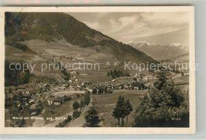 AK / Ansichtskarte Matrei Brenner Panorama Kat. Matrei am Brenner