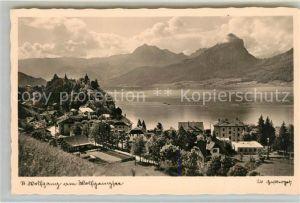 AK / Ansichtskarte St Wolfgang Wolfgangsee Panorama Kat. St. Wolfgang im Salzkammergut