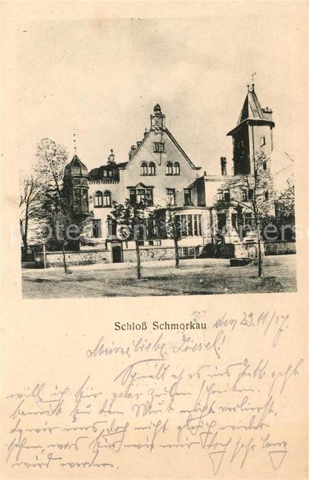 AK / Ansichtskarte Schmorkau Schloss Kat. Neukirch Koenigsbrueck