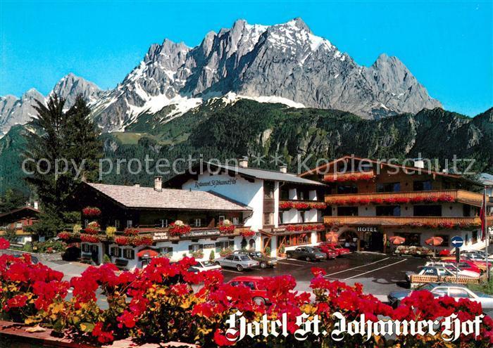 AK / Ansichtskarte Johann Tirol St Hotel Johanner Hof Kat. St. Johann in Tirol