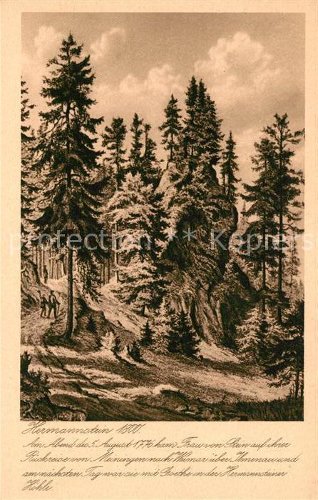 AK / Ansichtskarte Hermannstein Hoehle Kat. Wetzlar