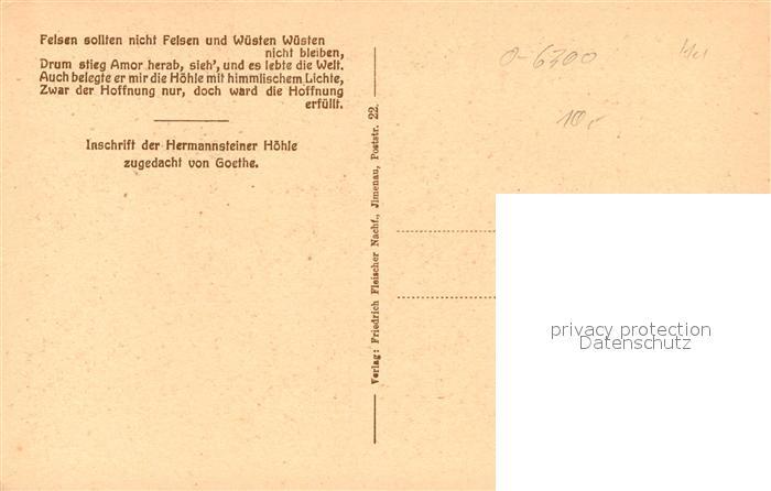AK / Ansichtskarte Hermannstein Hoehle Kat. Wetzlar 1