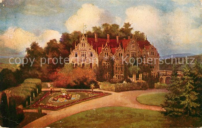 AK / Ansichtskarte Altenstein Bad Liebenstein Schloss Altenstein Kuenstlerkarte Kat. Bad Liebenstein