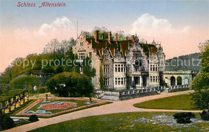 AK / Ansichtskarte Altenstein Bad Liebenstein Schloss Altenstein Kat. Bad Liebenstein