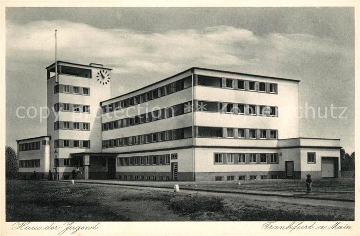 AK / Ansichtskarte Frankfurt Main Haus der Jugend Kat. Frankfurt am Main