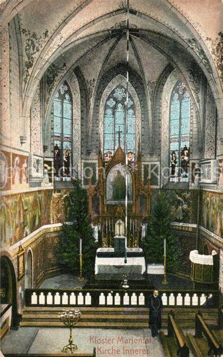 AK / Ansichtskarte Mariental Helmstedt Kloster Kirche Inneres Kat. Mariental