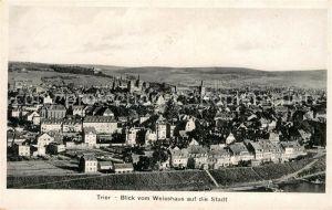 AK / Ansichtskarte Trier Blick vom Weisshaus auf die Stadt Kat. Trier