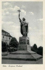 AK / Ansichtskarte Fulda Bonifacius Denkmal Statue Kat. Fulda
