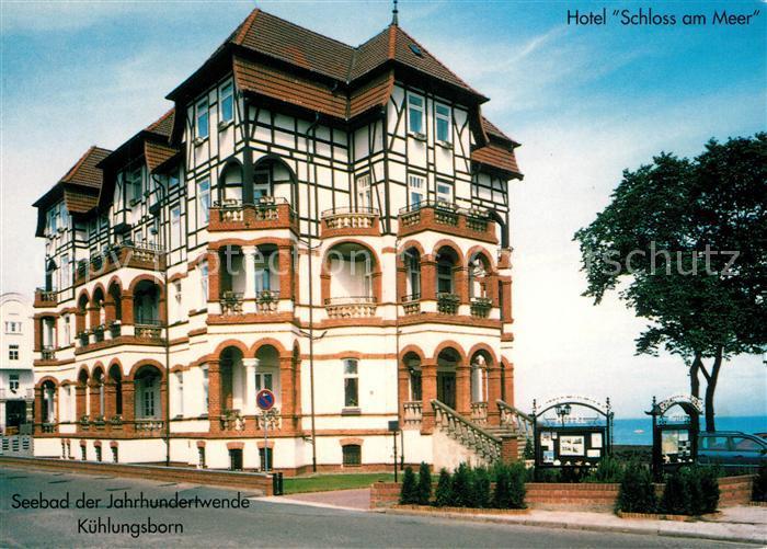 AK / Ansichtskarte Kuehlungsborn Ostseebad Hotel Schloss am Meer Kat. Kuehlungsborn