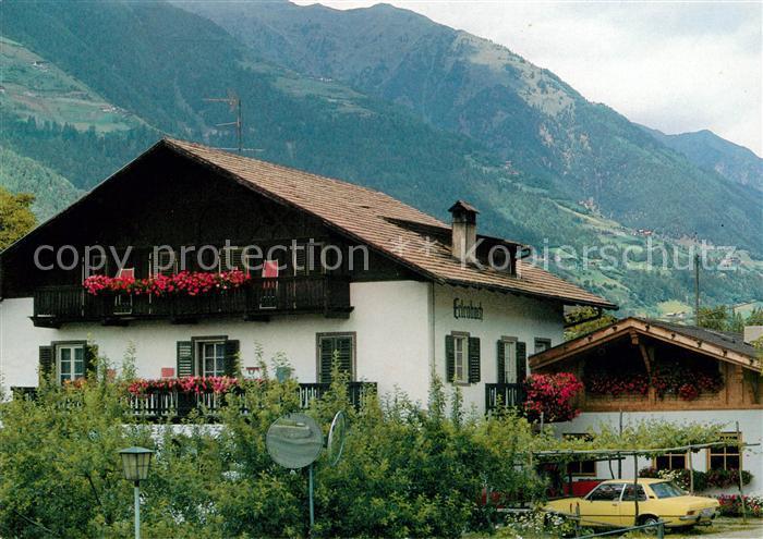 Schenna Meran Pension Garni Erlenbach Kat. Italien