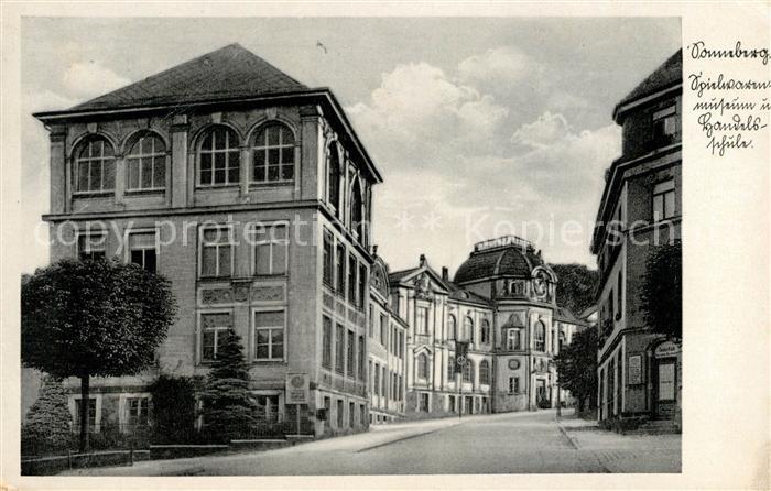 Sonneberg Thueringen Spielwaren Museum und Handelsschule Kat. Sonneberg