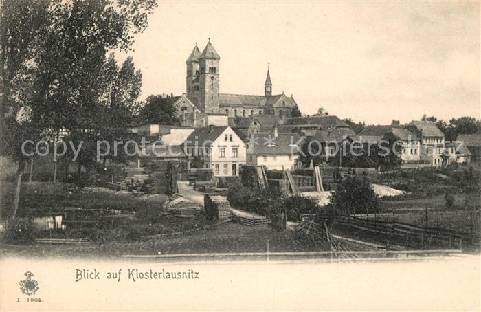 Klosterlausnitz Bad Teilansicht Kirche Kat. Bad Klosterlausnitz