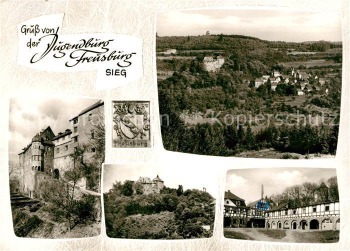 AK / Ansichtskarte Freusburg Jugendburg Freusburg Kat. Kirchen (Sieg)