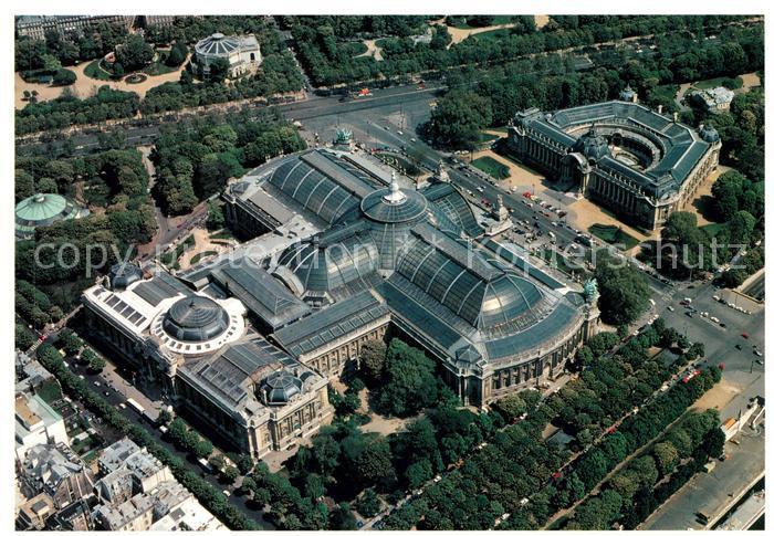 AK / Ansichtskarte Paris Fliegeraufnahme Le Grand Le Petit Palais Kat. Paris