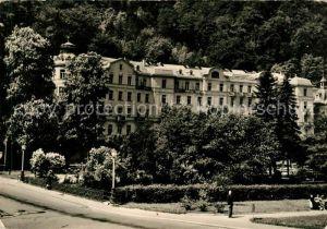 AK / Ansichtskarte Karlovy Vary Park Hotel Moskva Kat. Karlovy Vary Karlsbad
