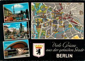 AK / Ansichtskarte Berlin Kongresshalle Gedaechtniskirche Funkturm Kat. Berlin