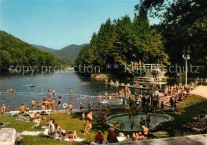 AK / Ansichtskarte Bad Lauterberg Waldschwimmbad Wiesenbeker Teich Kat. Bad Lauterberg im Harz