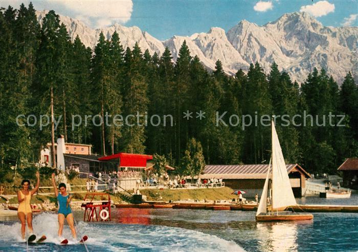 AK / Ansichtskarte Eibsee Pavillon Zugspitze Kat. Grainau