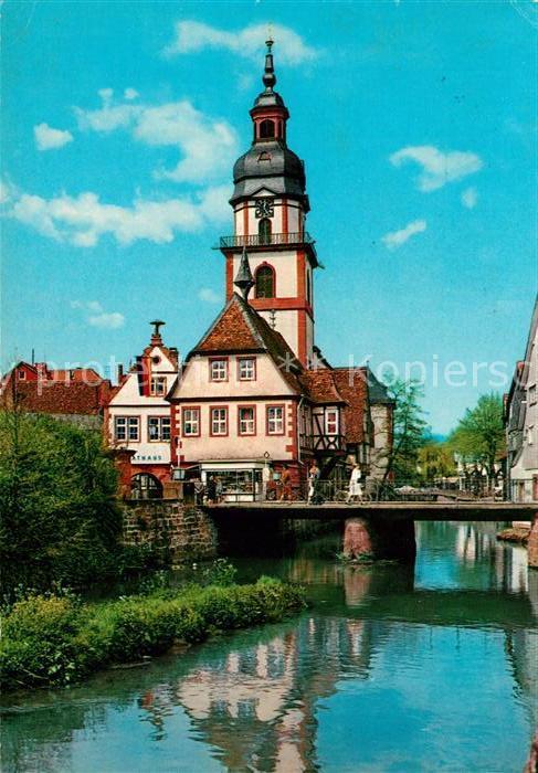 AK / Ansichtskarte Erbach Odenwald Panorama Rathaus Kat. Erbach