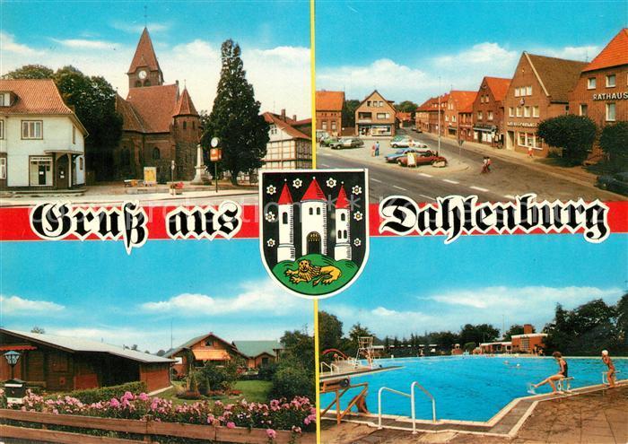 AK / Ansichtskarte Dahlenburg Schwimmbad Stadtansichten Kat. Dahlenburg