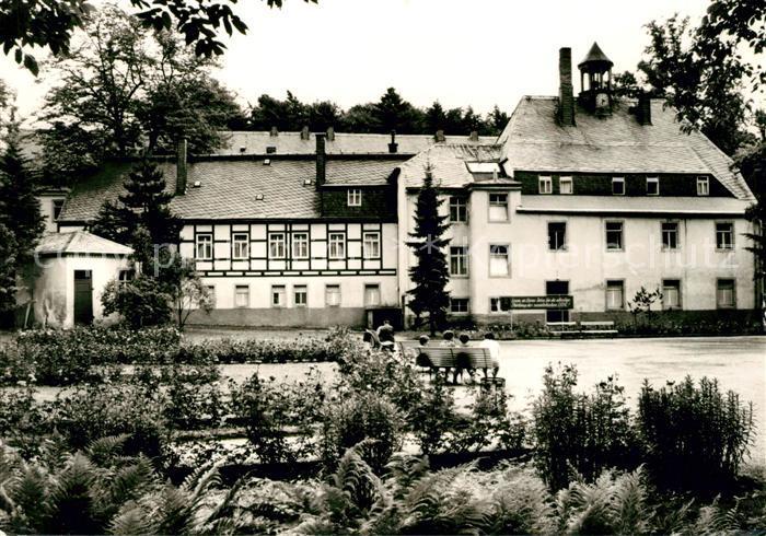 AK / Ansichtskarte Wolkenstein Erzgebirge Warmbad Sanatorium Kat. Wolkenstein