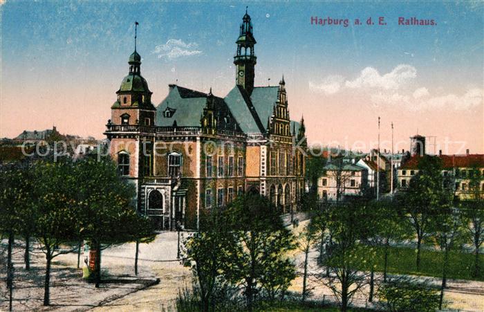 AK / Ansichtskarte Harburg Hamburg Rathaus Kat. Hamburg