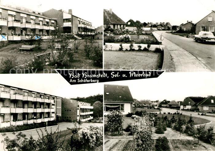 AK / Ansichtskarte Bad Bramstedt Kurpark Kuranlagen  Kat. Bad Bramstedt