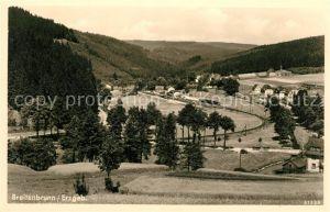 AK / Ansichtskarte Breitenbrunn Erzgebirge Panorama Kat. Breitenbrunn Erzgebirge