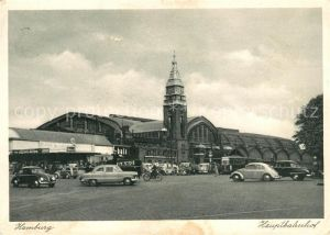 AK / Ansichtskarte Hamburg Hauptbahnhof Kat. Hamburg