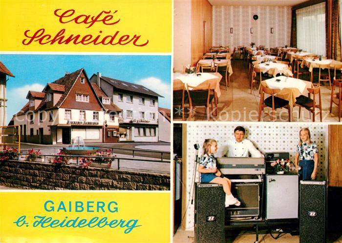 AK / Ansichtskarte Gaiberg Cafe Schneider  Kat. Gaiberg