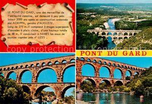 AK / Ansichtskarte Vers Pont du Gard Pont du Gard Kat. Vers Pont du Gard