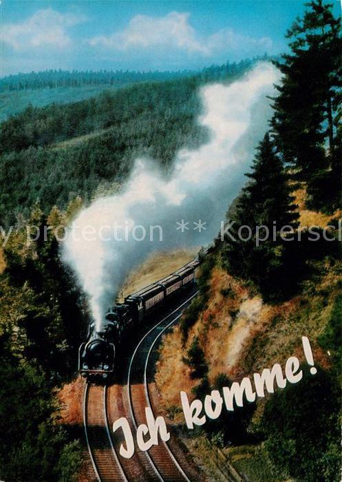 AK / Ansichtskarte Eisenbahn  Kat. Eisenbahn
