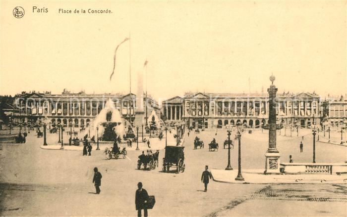 AK / Ansichtskarte Paris Place de la Concorde Kat. Paris