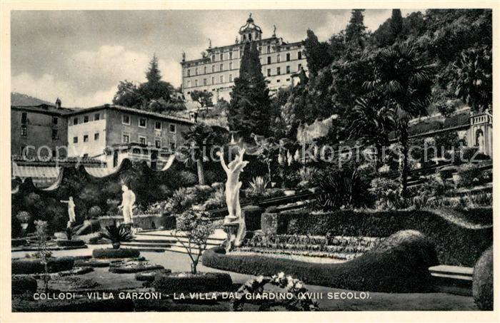 AK / Ansichtskarte Collodi Villa Garzoni La Villa dal Giardino