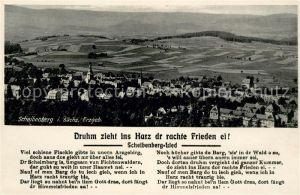 AK / Ansichtskarte Scheibenberg Panorama Kat. Scheibenberg Erzgebirge