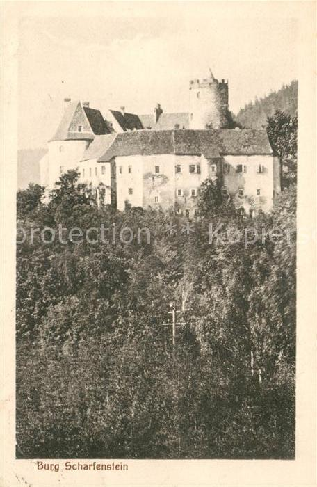 AK / Ansichtskarte Scharfenstein Erzgebirge Burg Scharfenstein Kat. Drebach