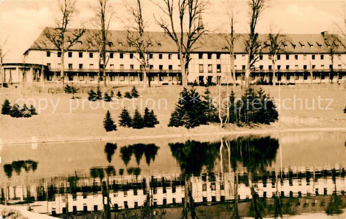 AK / Ansichtskarte Wolkenstein Erzgebirge Warmbad Klubhaus Kat. Wolkenstein
