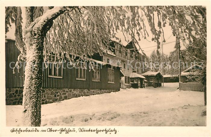 AK / Ansichtskarte Oberholzhau Fischerbaude Kat. Rechenberg Bienenmuehle
