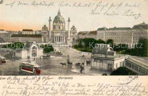 AK / Ansichtskarte Wien Karlsplatz Kat. Wien