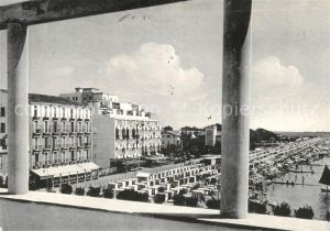 AK / Ansichtskarte Grado Gorizia La Spiaggia vista della Villa Marchosini
