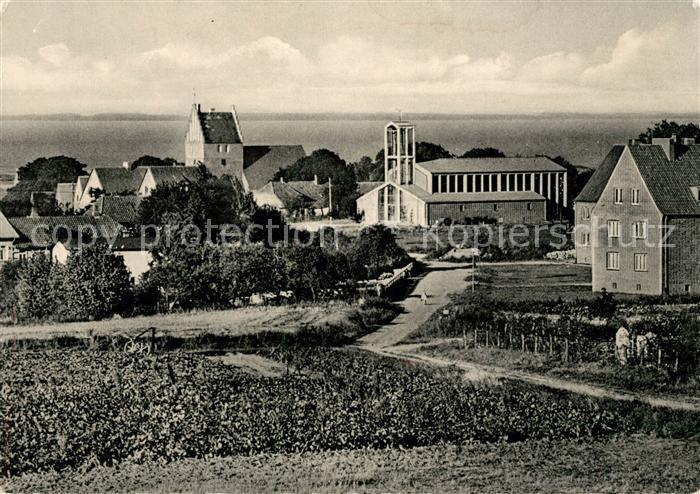 AK / Ansichtskarte Heiligendamm Ostseebad Kirchenpartie Kat. Bad Doberan
