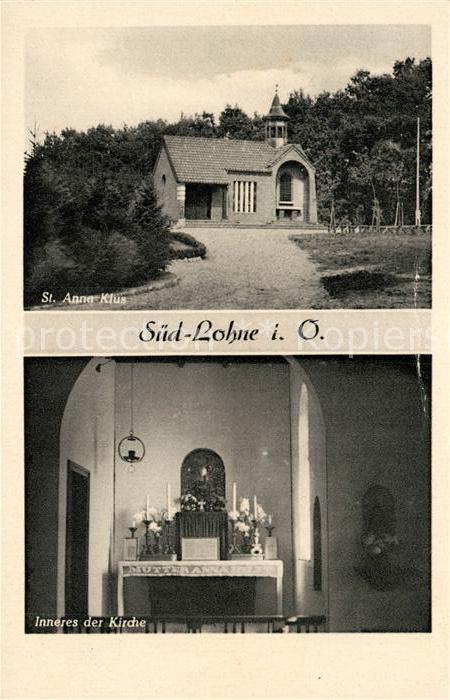 AK / Ansichtskarte Lohne Sankt Anna Klus Kat. Lohne (Oldenburg)