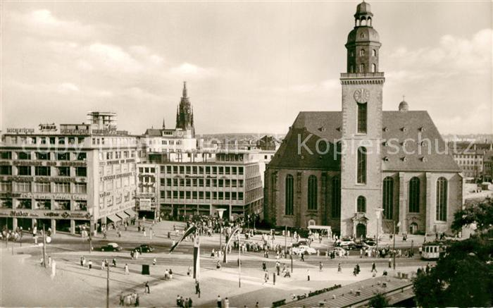 AK / Ansichtskarte Frankfurt Main Hauptwache Katharinenkirche Kat. Frankfurt am Main